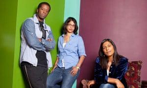 Adrian Lester, Indhu Rubasingham and Lolita Chakrabarti