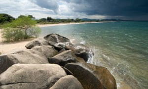 """Lake Malawi shoreline"""