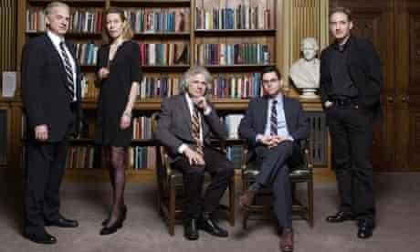 science authors Gleick, Frank, Pinker, Foer, Greene