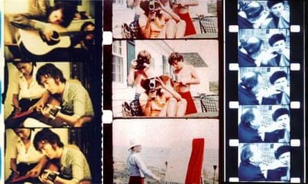 Jonas Mekas films of Lennon, Kennedy, Dali
