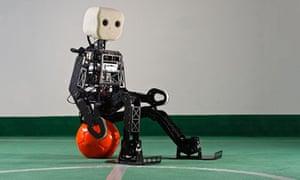 football-playing robot NimbRo-OP