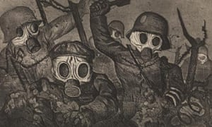 Otto Dix, Shock Troops, art