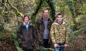 Wood owners Kevin, Claire and Matthew Bird