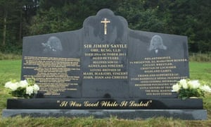 SIR JIMMY SAVILE MEMORIAL PLAQUE UNEILED