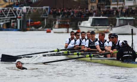 Xchanging Oxford v Cambridge Boat Race 2012