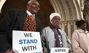 Mau Mau uprising compensation bid