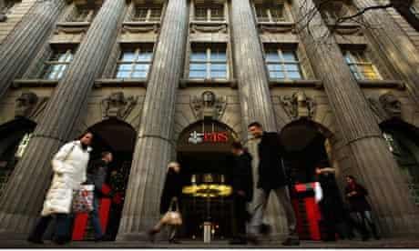 Swiss bank UBS  in Zurich