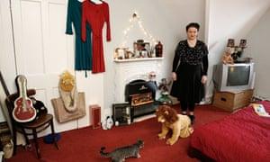 Eliza Carthy's room in Yorkshire