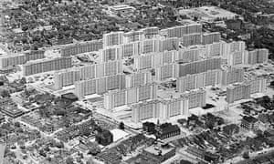 Aerial View of St. Louis Housing Project