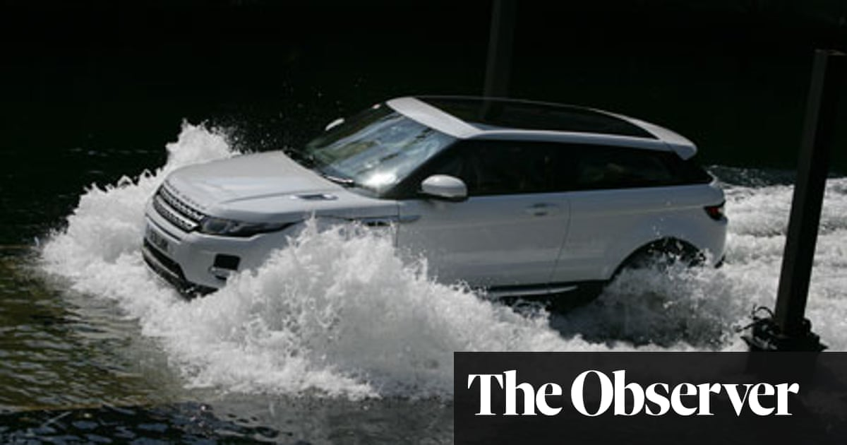 Car Review Range Rover Evoque Technology The Guardian
