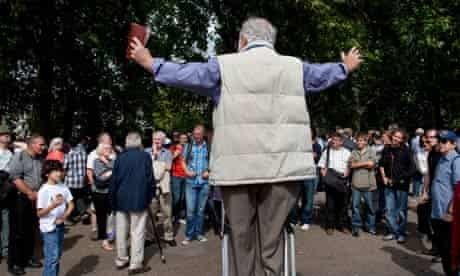 Speakers' Corner in London