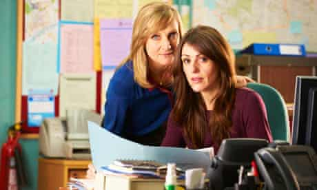 Suranne Jones and Lesley Sharp as the detective constables in Scott & Bailey