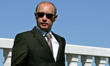 President Vladimir Putin in 2007