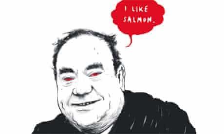 Alex Salmond illustration