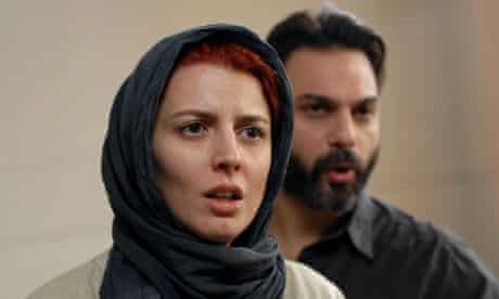 Leila Hatami and Peyman Moaadi as a couple in crisis in A Separation.