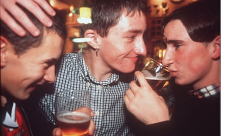 lads drinking