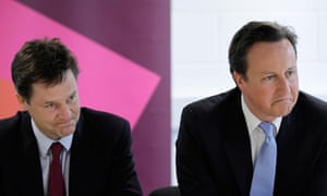 Prime Minister David Cameron And Deputy Prime Minister Nick Clegg Visit The Olympic Park