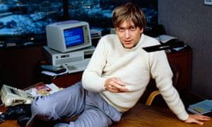 Bill Gates Tossing Floppy Disk