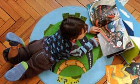 Child reading, Frank Cottrell Boyce