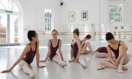 ballet students at white lodge