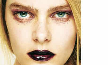 monochrome makeup