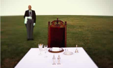 table setting for one