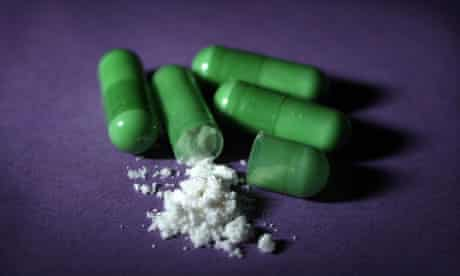 Mephedrone capsules