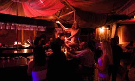 Lap dancer, thh sex myth