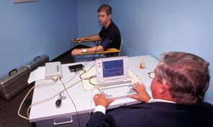 Polygraph testing in a Texas police station