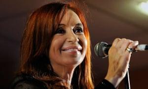 ARGENTINA-fernandez-KIRCHNER-ELECTION