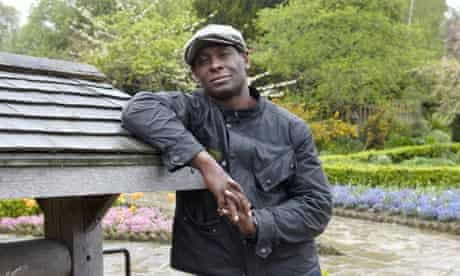 Actor David Harewood at The Rookery,  'a hidden gem of a garden on Streatham Common'