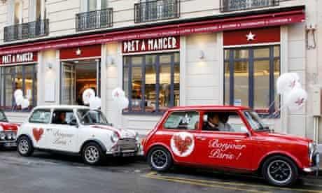 pret a manger paris