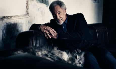 Tom Jones with dog