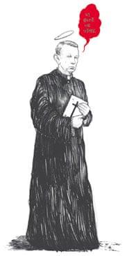 Michael Gove as a vicar