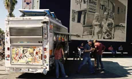 Kogi food truck in Los Angeles