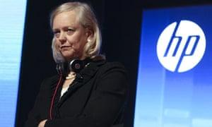 HP CEO Meg Whitman Visits Shanghai