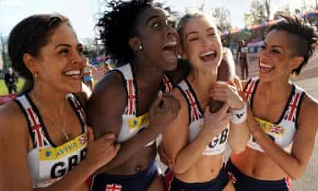 Fast Girls team