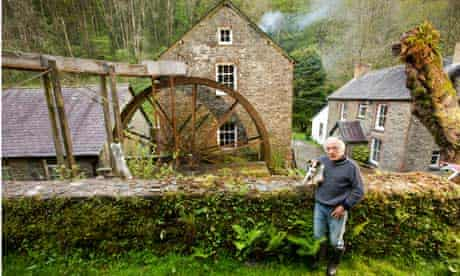 Mike Godsell at Dreifa Mills in Carmarthenshire