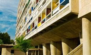 Le Corbusier's Cité Radieuse flats in Marseille.
