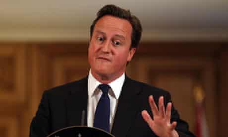 ***BESTPIX*** Prime Minster David Cameron Holds Press Conference