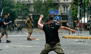 Riots  Athens Greece  29 Jun 2011