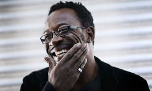 Lennie James, star of Line of Duty, smiling
