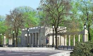 Bomber Command Memorial, Green Park, London