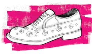flowery shoe