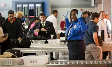 security checks at JFK airport