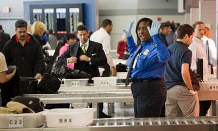 security checks at JFK airport