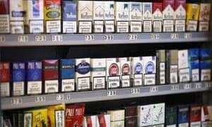 tobacco shop display