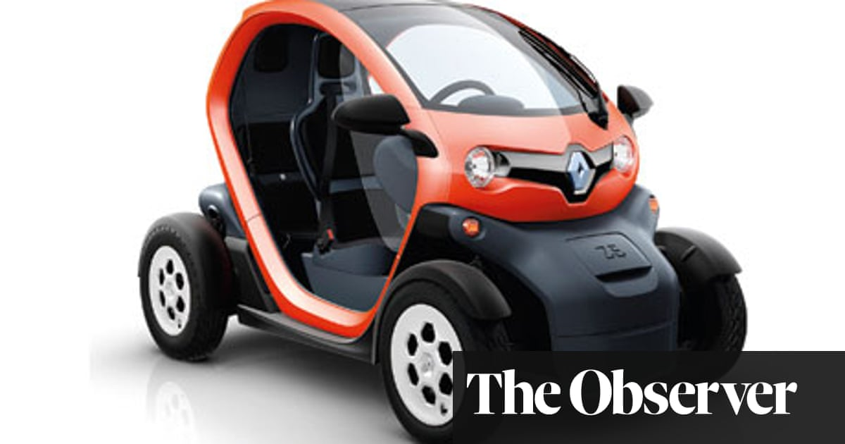Car Review Renault Twizy Technology The Guardian