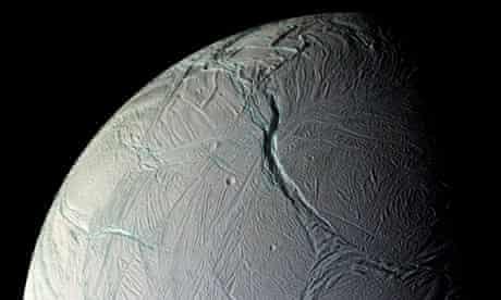 enceladus saturn moon surface