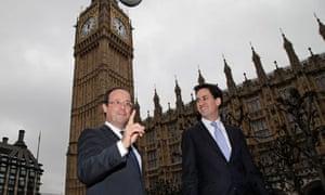 Ed Miliband, Francois Hollande